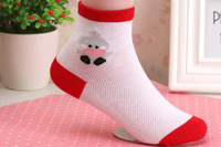 2015 new fashion cute  spring and summer cotton children socks for boys and girls 1-12 years old 12 pairs / box hot sale