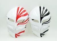 2015 Hot Sale 2PCS Bleach Cosplay  Mask  PVC Halloween Carnival  Kurosaki Ichigo  Party Mask   New Arrival  Free Shipping