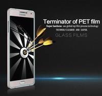 10pcs A7 Tempered Glass Flim,NILLKIN Amazing H Nano Anti-burst Tempered Glass Screen flim For Samsung Galaxy A7 A700 + freeship