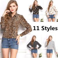 Autumn Spring 11 Styles Women Chiffon Shirt Body Tops Desigual Femininas Lady Clothes Blusas Roupas Casual Blouse Shirt Women