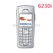 Refurbished Original Nokia 6230i Original mobile phone unlocked Tri band phone free shipping