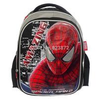 New Original Spiderman Backpack Kids School Bags for Boys  Child School Backpacks Mochila Escolar Schoolbag Free Shipping