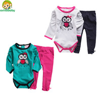 Avivababy Bebe Sets All for Children Clothing and Accessories Spring & Autumn Newborns Blousa Infantil Girl Set Baby Things 2015