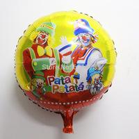 New arrival 50pcs /lot  18inch  clown  patata patati balloon for Festival decoration foil balloons air mylar