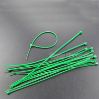 1000 PACK 6 INCH NYLON ZIP CABLE TIES WIRE TIE WRAPS GREEN 18 LBS