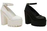 2015 Spring thick heel high-heeled shoes fashion platform sexy women shoes women pumps  free shipping