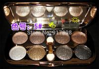 8 colors diamond bright colorful eye shadow eyeshadow super flash ( sombra de ojos / fard a paupieres ) Glitter eyeshadow
