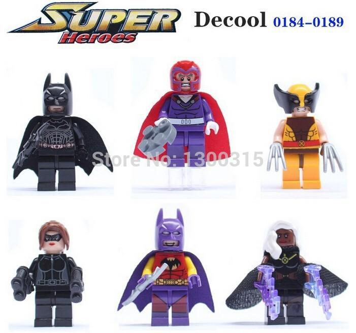 Детское лего 60pcs DC MARVEL 0184/0189 , /, /x/men BUILDING BRICK детское лего s 4 marvel dc