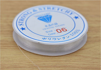 1pcs Spool of Crystal Clear white Stretch Elastic Beading Wire Cord String Thread DIY for Jewelry making Cords