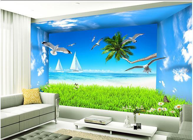 online get cheap beach wallpaper murals aliexpress com online get cheap beach wallpaper murals aliexpress com