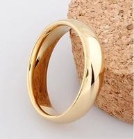 J117  men fine jewelry wedding ring Rose gold ring