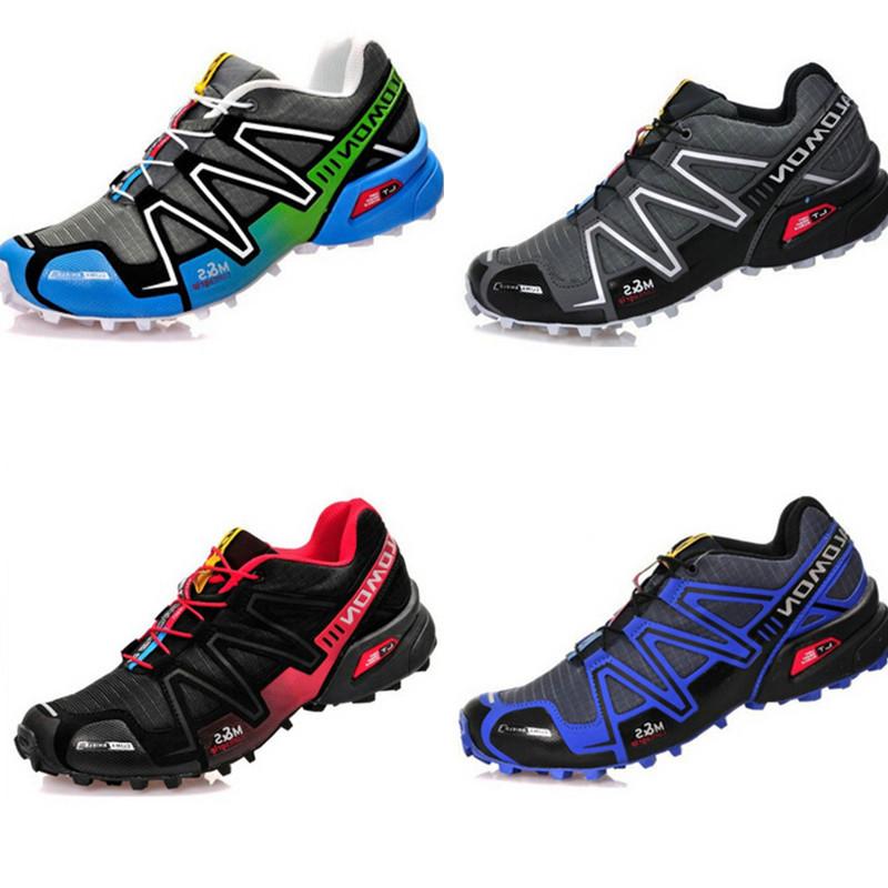 2015 nova chegou Zapatillas Salomoned Speedcross 3 sapatos para homens e mulheres esporte ao ar livre Athletic sapatos RUNNlNG botas de motociclista(China (Mainland))