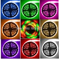 DC 12v 3528 waterproof 300leds flexible light RGB/cool white/warm white/blue/green/red/yellow/pink/Purple 5m 3258 led strip