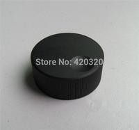 2015 new 2pcs/lot All aluminum solid black volume potentiometer knob handle 32mm*13mm*6mm aluminum knob volume for amplifier