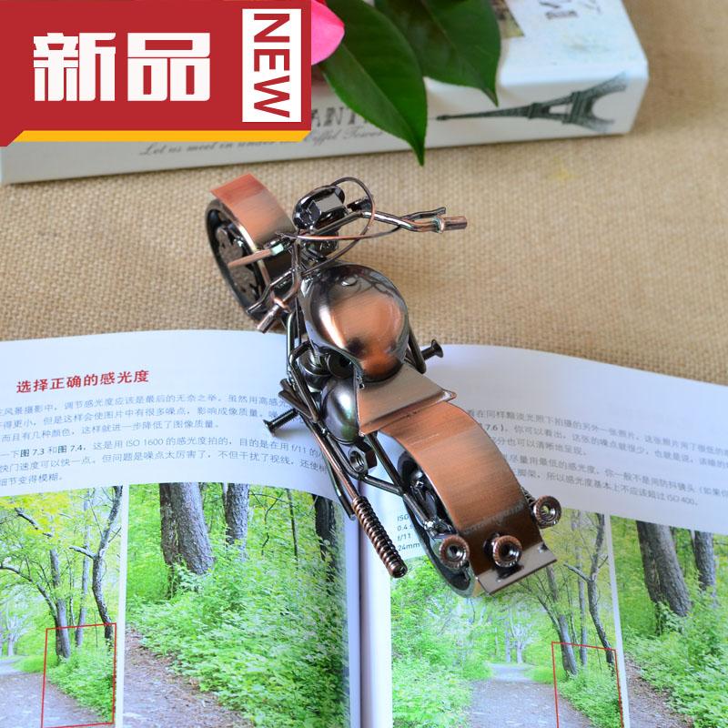 Handmade motorcycle model small decoration home fashion gifts(China (Mainland))