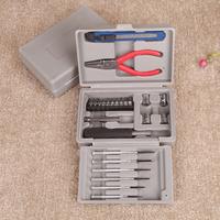 24pcs in 1 Multifunction Screwdriver Set home repair Tools Kit  Notebook phone screwdriver repair tool set free shipping