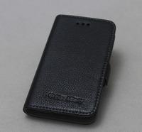 Flip leather case for blackberry Q5 / For blackberry Q5 genuine leather case