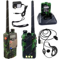 Pofung UV-5RA VHF/UHF Dual Band 136-174/400-520 DTMF CTCSS Two Way Radio S Green LB0580