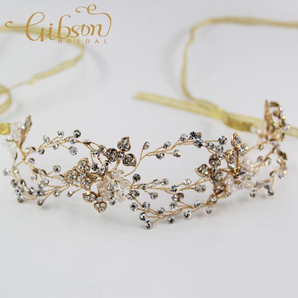 Free Shipping Rhinestone And Crystal Bridal Headpiece Wedding Hair Accessories(China (Mainland))