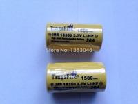 Tangsfire 18350 3.7V 1500mAh Rechargeable Li-ion Battery 30A