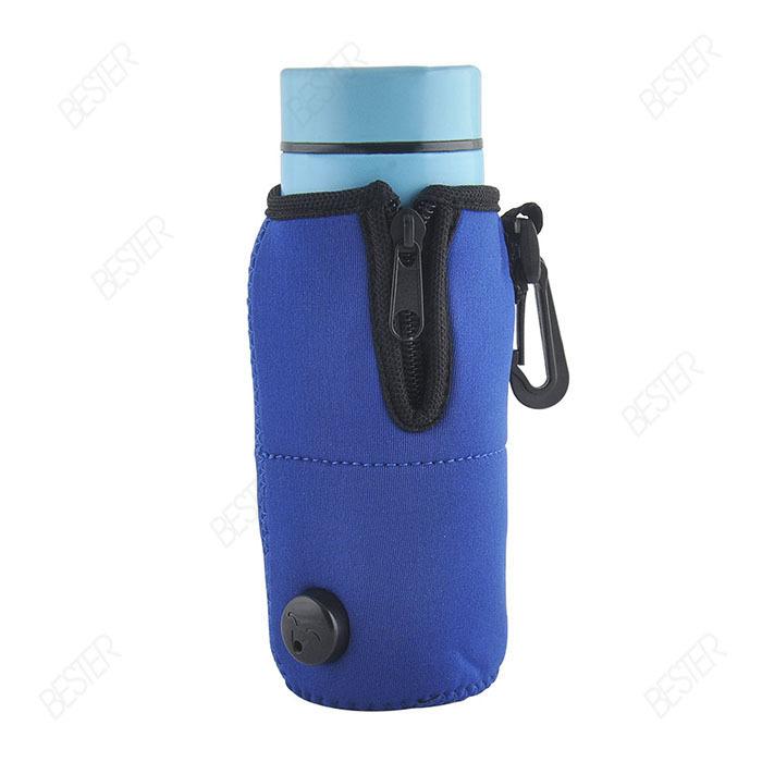 Portable Car Baby food & bottle wamer milk / coffee/ drink heater Warmer Freeshipping(BS340 1pc)(China (Mainland))