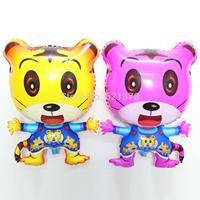 New 50pcs/lot  cute tiger balloon 66*46cm animal helium balloon for kid toys