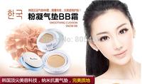 2014 New AIR CUSHION BB Cream sunscreen makeup  Natual Concealer Brighten Moisturizer Whitening Long wrinkle