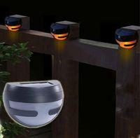 Free Shipping Waterproof Solar Lamp Garden Decorative Lights Floor Lights Fence Light LED Wall Light