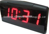 "1""red led 4 digital display desk clock 7- segment led countdown timer"