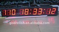 led digital day countdown clock