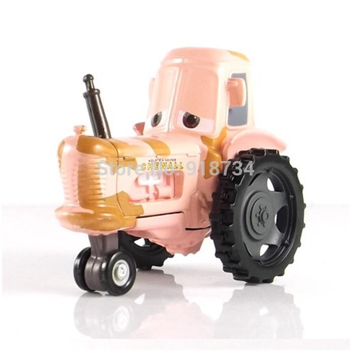 100% original --- Rare Pixar Cars diecast figure TOY Tractor(China (Mainland))