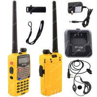 Pofung UV-5RA VHF/UHF Dual Band 136-174/400-520 DTMF CTCSS Two Way Radio S  Yellow LB0581
