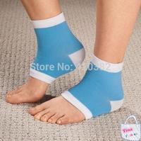 Moisturizing Socks - For Men Women Kids GEL Heel Socks for Dry Hard Cracked Skin Moisturising Open Toe Comfy Recovery Socks