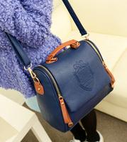 HOT! 2013 autumn fashion one shoulder women handbag women leather handbag casual free shipping
