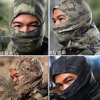 Camouflage Tactical Airsoft Hunting Wargame NINJA Full Face Balaclava Mask Motorcycle Skiing Cycling Skullies Beanies Full Hood