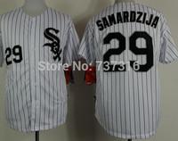 Cheap Sale White Sox 29# Samardzija #53 Cabrera Jersey White 2015 New Men's Baseball Jerseys Accept Mix Order