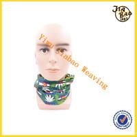 Multifuctional headwear print fabric/elastic headwear