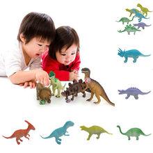 8x Noctilucent Animal Night Light Dinosaur Figure Child Kids Toy Gift Wholesale(China (Mainland))