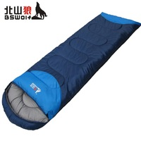 Kitayama wolf outdoor winter sleeping bag lunch ultralight adult thick warm autumn and winter mountaineering
