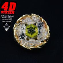 Edição limitada Super Metal raro lançador de Beyblade Set Top ouro SUN-GOD 145AS BBP03(Hong Kong)