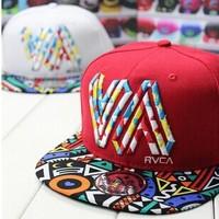 Drop shipping ! New Fashion Men & Women Hip-Hop Hats Snapback Colorful Geometric Baseball Cap Z4065
