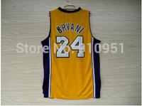 Kobe Bryant 24 Basketball Jersey, Cheap Basketball Jerseys Kobe Bryant New Rev 30 Brand Embroidery Logo, S-XXL Free Shipping