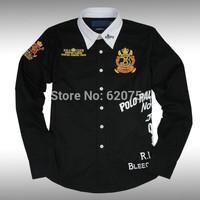 2015 new brand shirt 100% cotton fashion casual shirt long-sleeved men dress shirt Free Shipping #7020