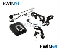 Motorbike Motorcycle Helmet Audio Intercom Headset With audio input plug IPOD MP3 Free shipping 1pc/lot