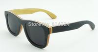 Retro brand 2015 WOODENsunglasses wayfarer google for men women bamboo steampunk  glasses oculos ciclismo free shipping 68004