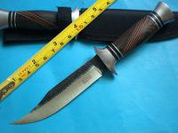 BODA 921B Handmade forging Custom Camping knives knife Fixed Survival Hunting Knife FK198