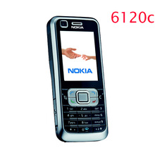 Refurbished Original Nokia 6120 Classic Mobile Phone Unlocked 6120c 3G Smartphone One year warranty Free shipping