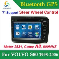 For VOLVO S80 1998-2006 2 Din Car DVD gps with GPS car Radio DVD player Bluetooth RDS TV USB Car Stereo SD Car receiver