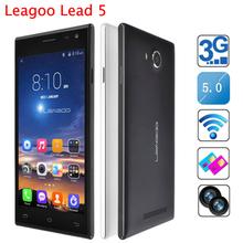 Original Leagoo Lead 5 5 inch IPS 854×480 MTK6582 Quad Core Android 4.4 Mobile Phone 1GB RAM 8GB ROM 8MP GPS WIFI 3G In Stock