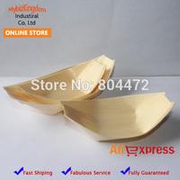 "2000 pieces Wood Sushi Boats Wood Tray Sushi Tools Food Tray 5"" Free Shipping"